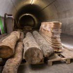 Kühle Lagerung im Bunker