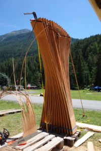 Holzbildhauerei mit der Kettensäge